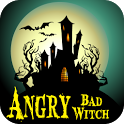 Angry Bad Witch -Kids Fun Game icon