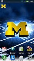 Screenshot of Michigan Wolverines Revolving