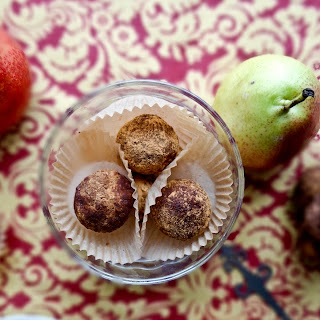 Chocolate Pecan Pear Truffles