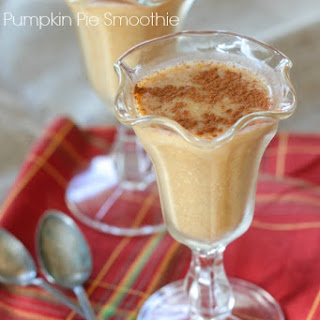 Simple Pumpkin Pie Smoothie.