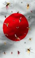 Screenshot of Japan flag free live wallpaper