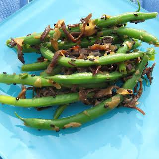 Asian Pantry Green Bean Salad.