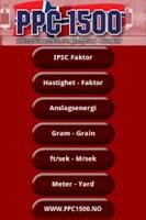 Screenshot of PPC 1500 FaktorKalkulator
