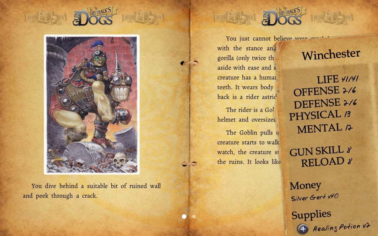 Gary Chalk's Gun Dogs - screenshot