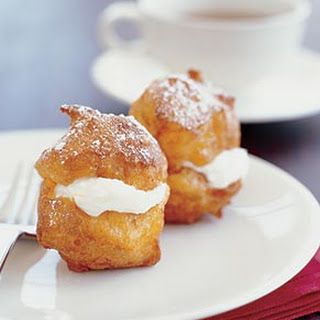 Lemon-Scented Ricotta and Mascarpone Cream Puffs