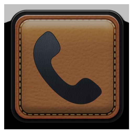 ExDialer Leather Theme 個人化 App LOGO-硬是要APP