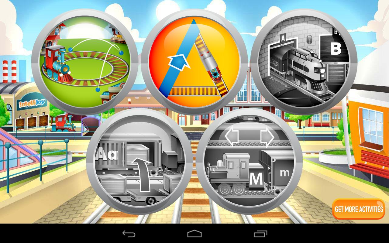 Kids ABC Letter Trains (Lite) - screenshot