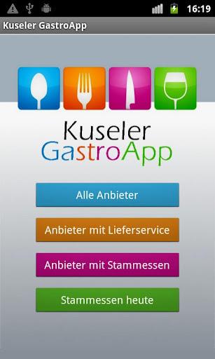 Kuseler GastroApp