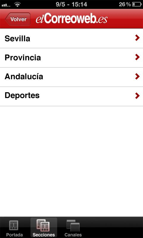 El Correo Web - screenshot