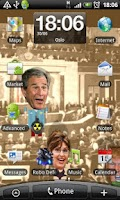 Screenshot of ObamaBall