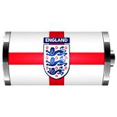 England: Flag Battery Widget