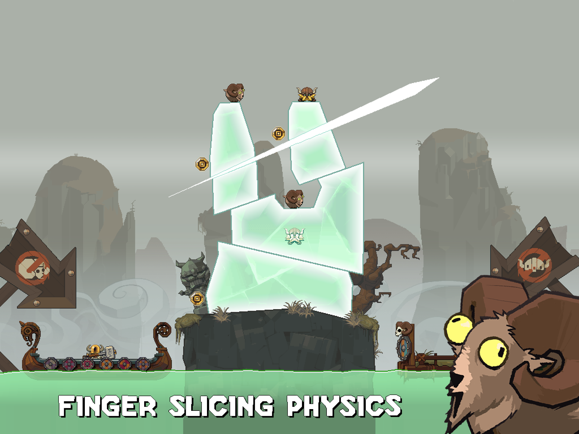 Icebreaker: A Viking Voyage screenshot #13