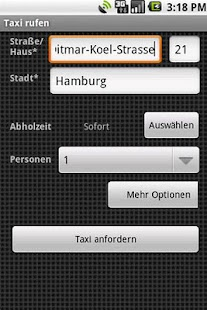 Taxi-Knigge Button – Miniaturansicht des Screenshots