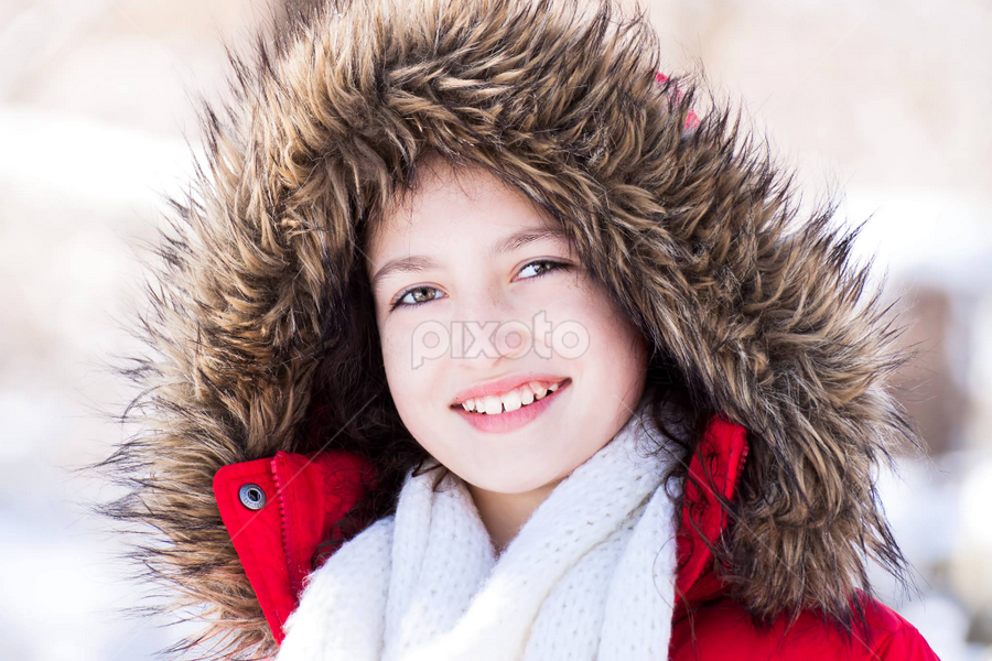 Its cold outside by Judy Deaver - Babies & Children Child Portraits