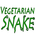 Vegetarian Snake logo