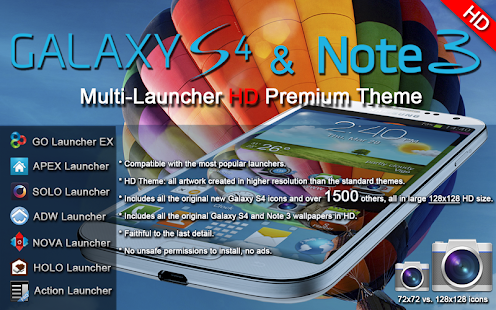 Galaxy S4 Note3 Premium Theme