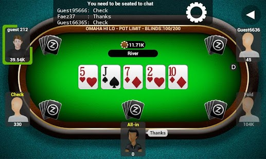 Poker Live by AbZorba - screenshot thumbnail