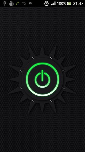 Фонарик Green flashlight