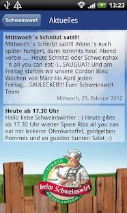 Schweinswirt- screenshot thumbnail