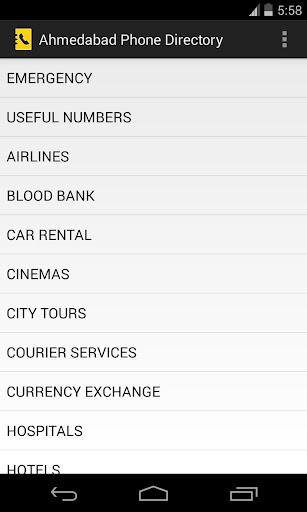 Ahmedabad Phone Directory