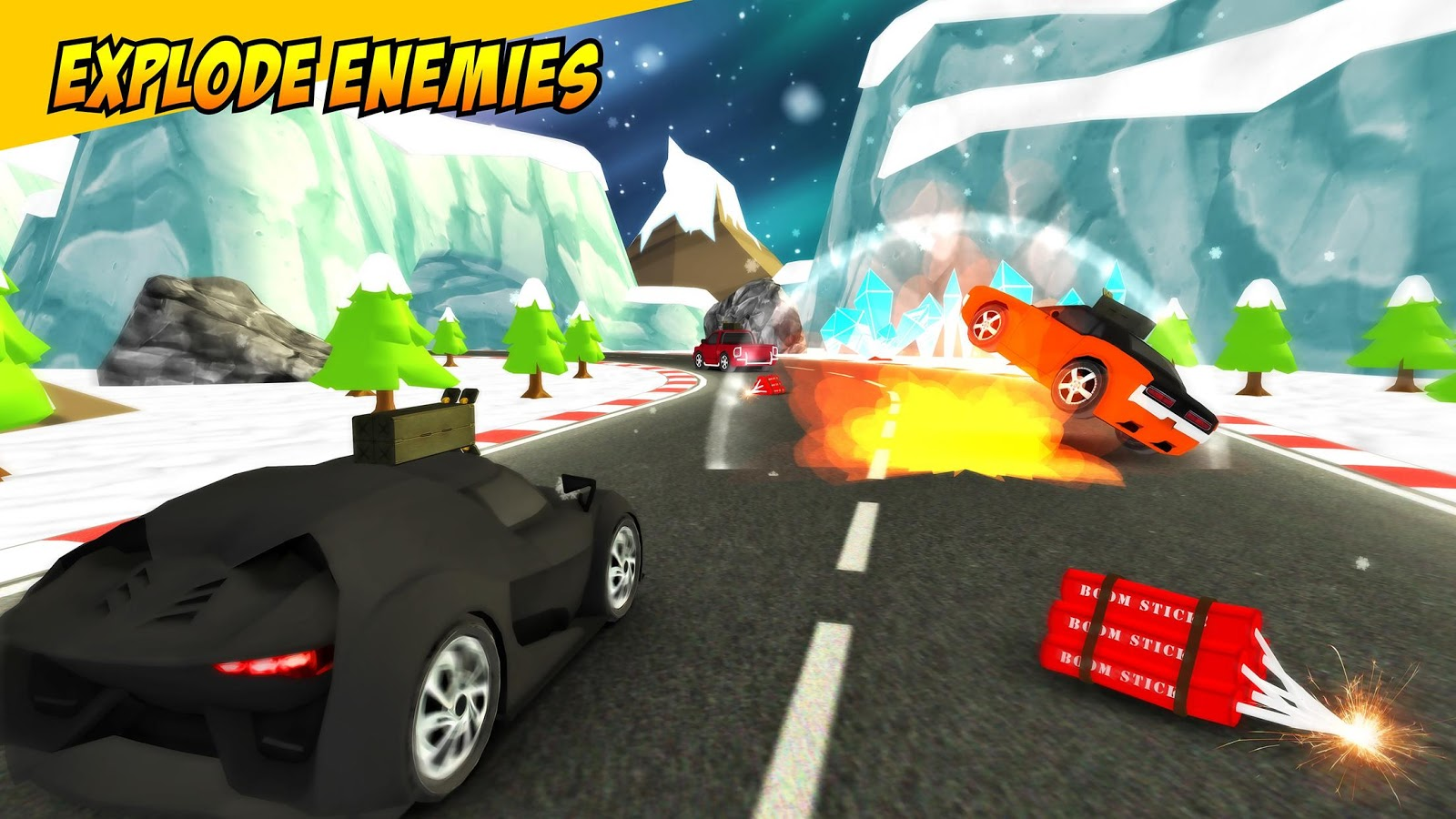 Ace Racer - Shooting Racing- screenshot