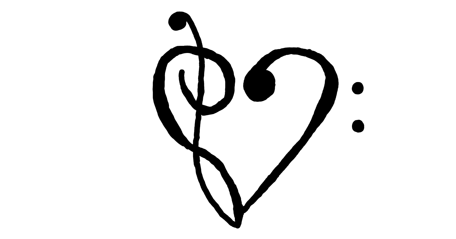 Image result for music heart