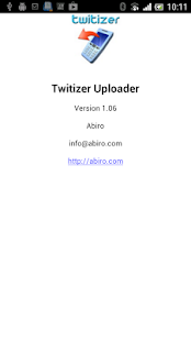 Twitizer Uploader - screenshot thumbnail