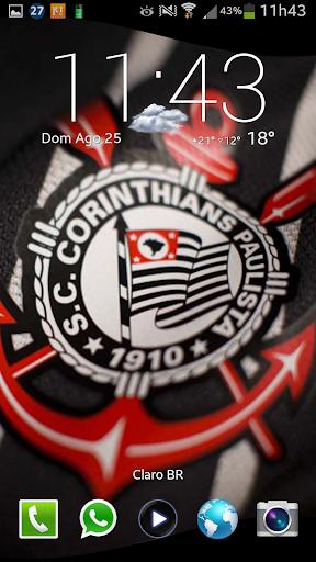 Bandeira Corinthians 3D LiveWP