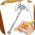 Game Learn to Draw Cold Weapon APK for Kindle