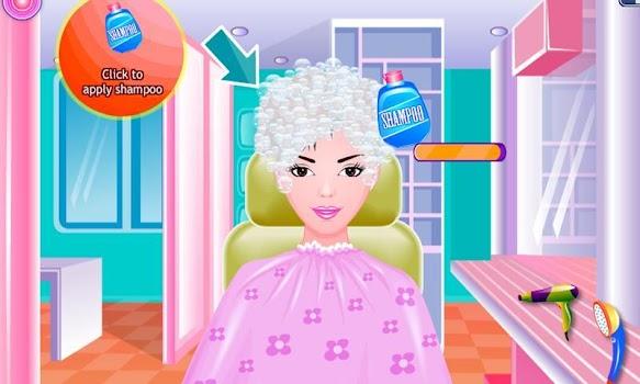 Free Girls Game Hair Salon