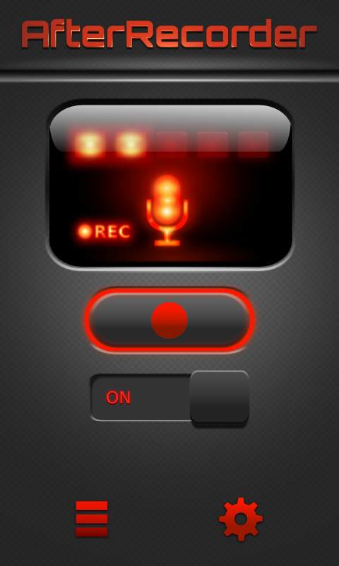 AfterRecorder - Audio Recorder - screenshot