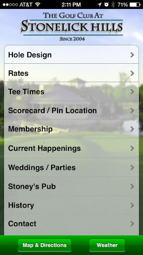 Golf Club at Stonelick Hills
