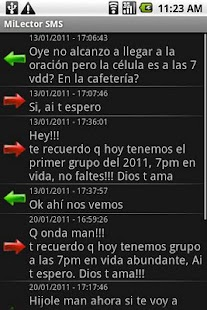 Mi Lector SMS - screenshot thumbnail