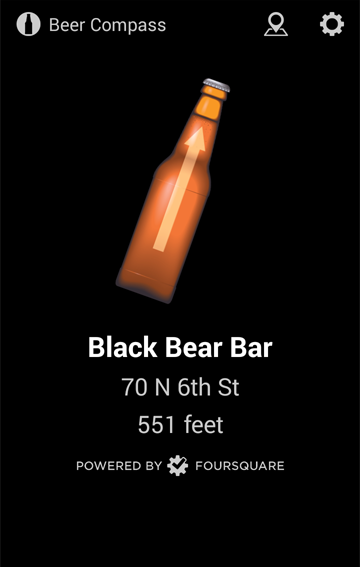 Beer Compass - Find Bars- screenshot