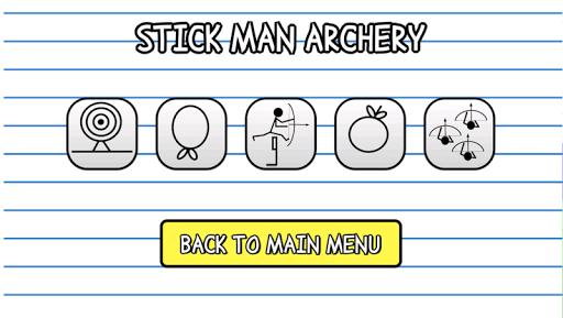 【免費體育競技App】Stick Man Archery-APP點子
