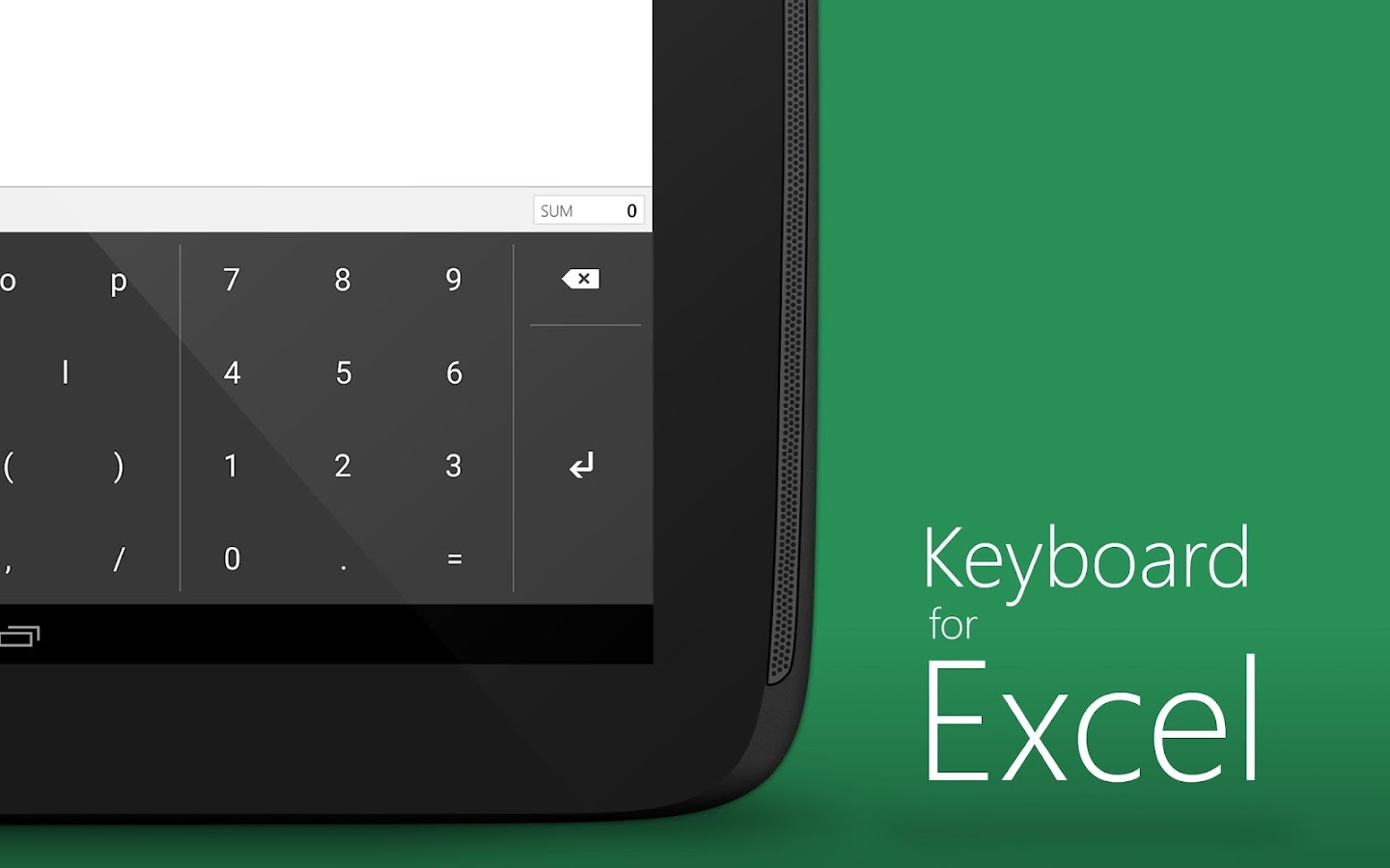 Ediblewildsus  Scenic Keyboard For Excel  Android Apps On Google Play With Handsome Keyboard For Excel Screenshot With Comely Pivot Table On Excel Also Annualized Return Formula Excel In Addition How To Create An Array In Excel And Excel Button To Run Macro As Well As Excel Weekly Budget Template Additionally Convert Xml File To Excel From Playgooglecom With Ediblewildsus  Handsome Keyboard For Excel  Android Apps On Google Play With Comely Keyboard For Excel Screenshot And Scenic Pivot Table On Excel Also Annualized Return Formula Excel In Addition How To Create An Array In Excel From Playgooglecom