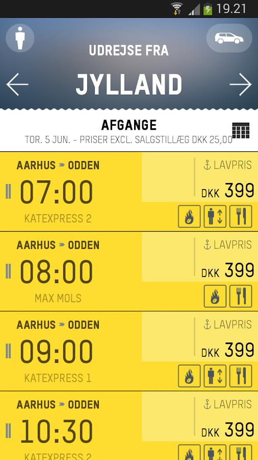 Mols-Linien - screenshot
