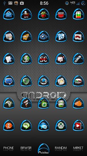 Cobalt Achilles Icon Pack
