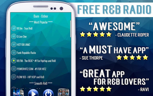 Free RnB Radio 3.3 screenshots 3