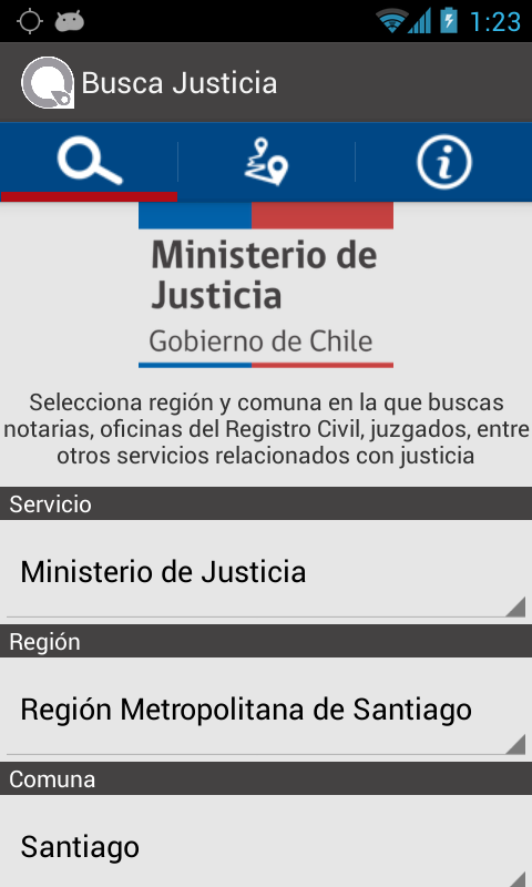 Busca Justicia- screenshot