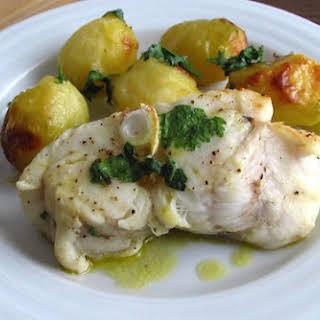 White Wine Garlic Monkfish Recipes.