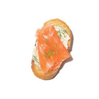 Real Simple Smoked Salmon Crostini