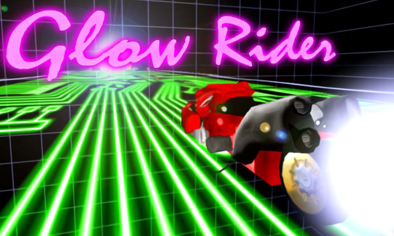 Glow Rider - screenshot