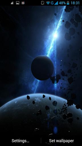 玩個人化App|小行星動態壁紙免費|APP試玩