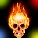 Scary ringtones downloader icon