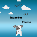 My Puppy Go Launcher Ex Theme