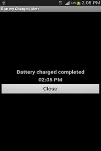 Battery Charged Alert- screenshot thumbnail