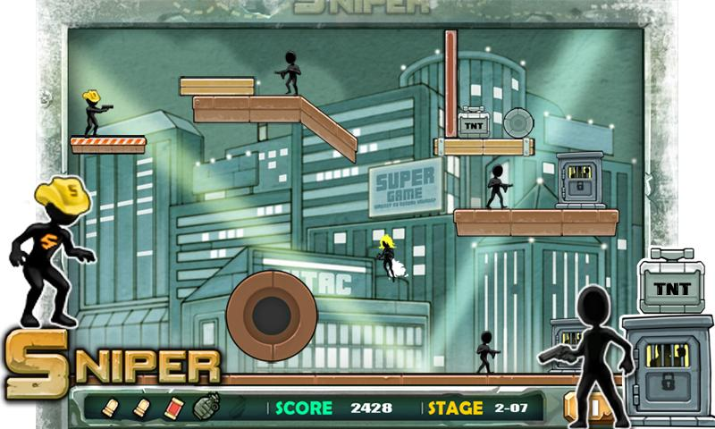 Sniper - Shooting games - screenshot