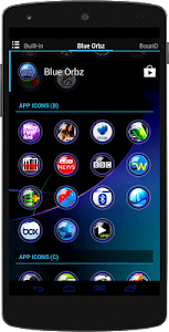 Blue Orbz Icon Pack v1.0
