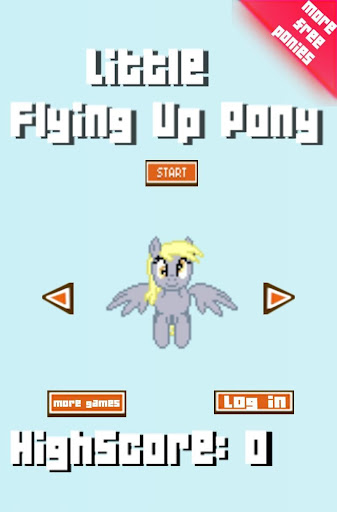 Little Flying Up Pony